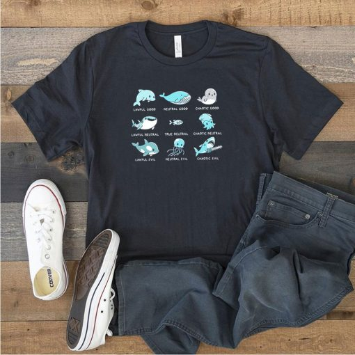 Dolphin lawful good neutral good chaotic good lawful neutral shirt