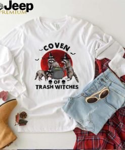 Coven Of Trash Witches Raccoon Halloween T shirt