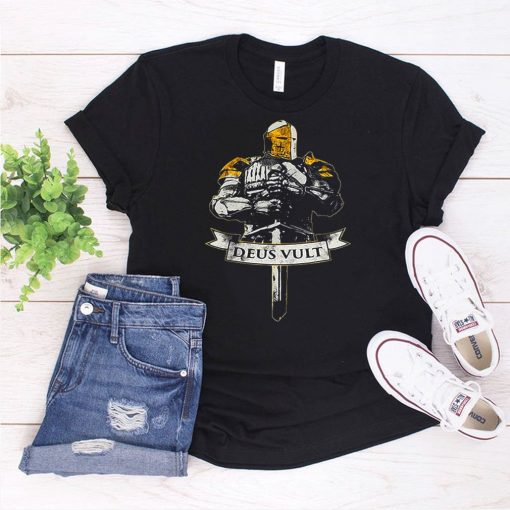 Gaming I Want You To Deus Vult T shirt