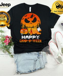 Happy Camp O Ween Funny Halloween Camping Camper T Shirt