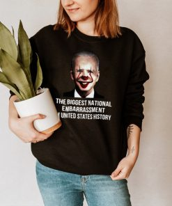 Pennywise Joe Biden The Biggest National Embarrassment In United States History Shirt