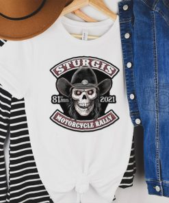 Skull sturgis 81st annual 2021 motorcycle rally shirt