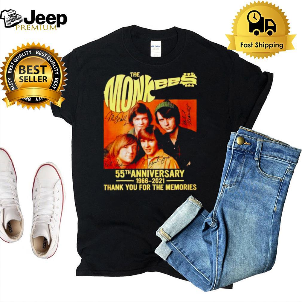 The Monkees 55th anniversary 1966 2021 signatures shirt