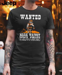 Wanted Mark Watney Space Pirate The Martian T shirt
