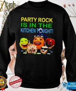 Party rock is in the kitchen tonight shirt
