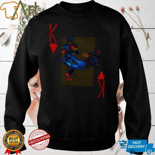 Playing card king of Henry shirt